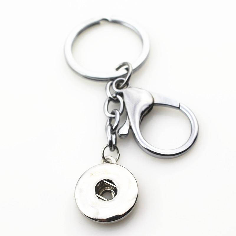 10PCS / 부지 핫 도매 랍스터 걸쇠 스냅 열쇠 고리 열쇠 고리 맞춤 18mm DIY의 진저 스냅 버튼 보석 매력 가방 펜던트 열쇠 고리