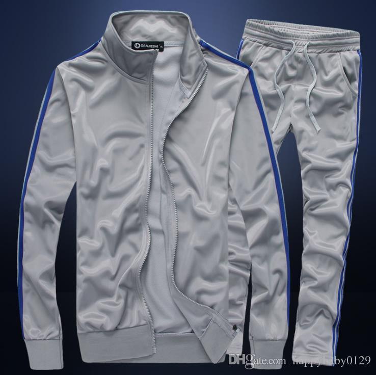 2019 Automne nouveau printemps chandail aigle hommes T-shirt imprimé + pantalons costume mode sport casual hommes Survêtements veste de costume hommes de sport