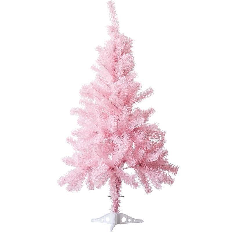 71 Polegadas Grande Rosa Romântico árvore de Natal Decoração de Garland longo Vine Bauble Window Shopping Shopping Prop Arranjo