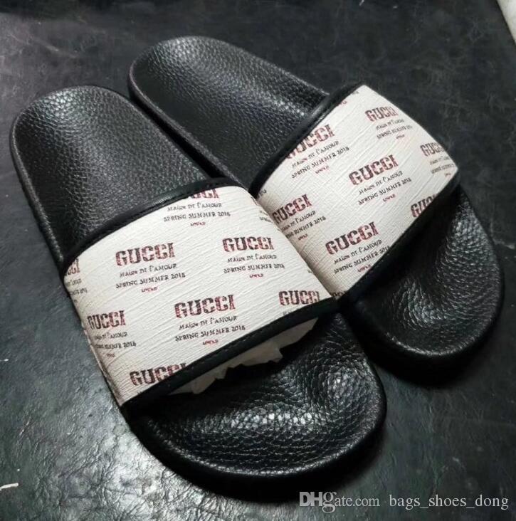 New Fashion Donna uomo Casual Peep Toe sandali scarpe da spiaggia in pelle da donna Ragazzi ragazze Design di lusso infradito pantofole G90