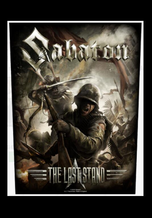 Sabaton Photo Poster Print