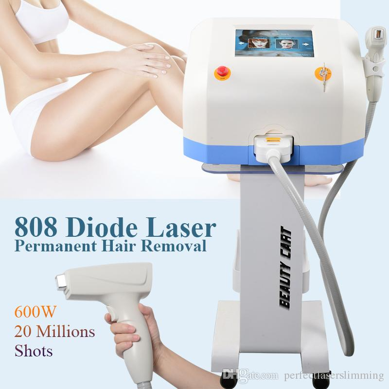 Painless Permanent Diode Laser Hair Removal Machine Soprano Ice
