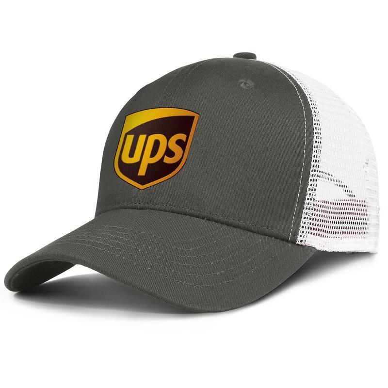 Mens United Parcel Service logotipo original da malha Mulheres chapéu de algodão Ventilação Snapback Caps cinza preto do arco-íris do orgulho Gay camuflagem branca