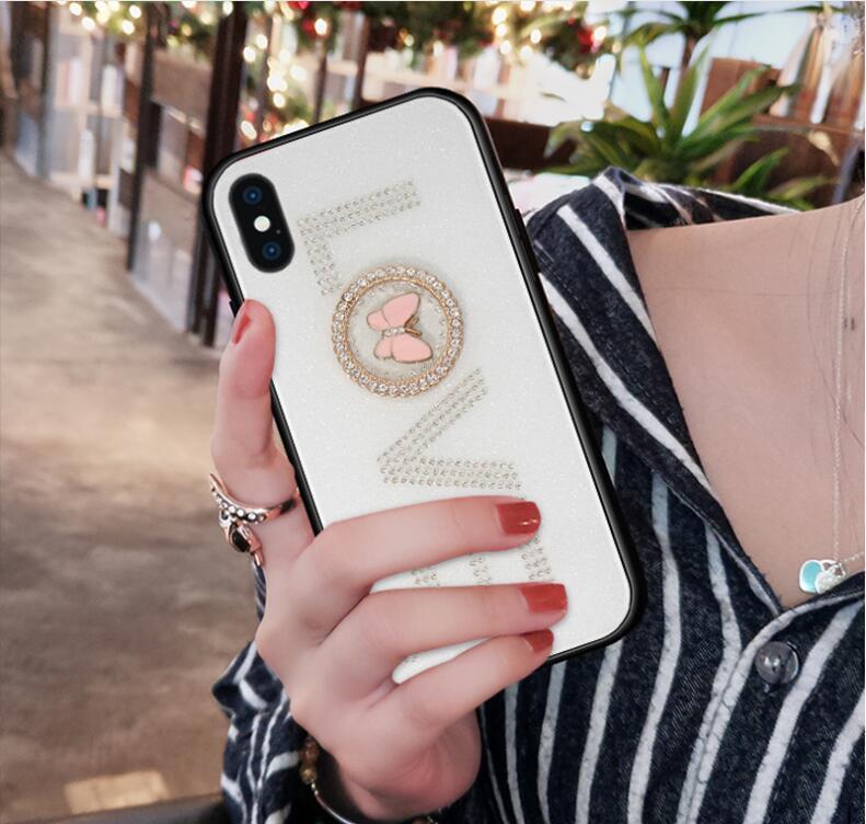 Convient pour iphone xs pour téléphone mobile populaires nouvelles xs pomme strass acrylique housse de protection max