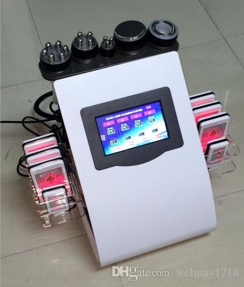 6 W 1 Lipo Laser RF Wielofunkcyjny Kim 8 System Odchudzający Odchudzanie Maszyna do wyciągu Face Cavitation Kim 8 System Odchudzania na sprzedaż