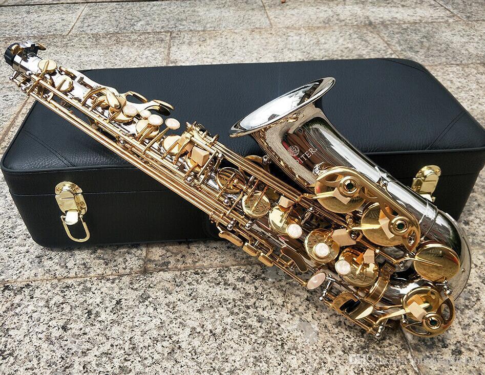 New JUPITER Saxophone Alto Eb Tune Nickel plaqué E plat Sax Alto JAS 1100SG Instruments de musique avec copie Embouchure Case