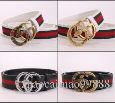 Top Quality New Brand Designer Genuine Leather Belts for Men Women Serpentine Pattern Bronze Buckle Belt width 3.5cm Big Size 110cm-125cm