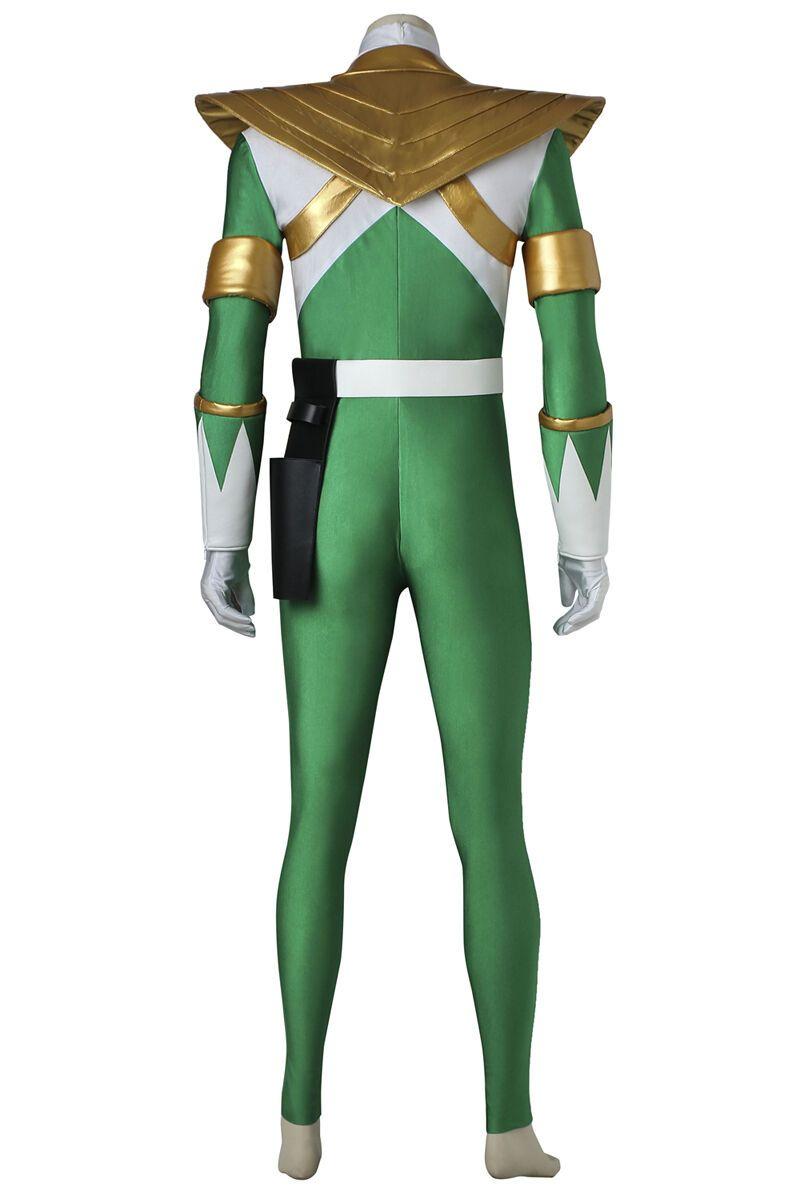 Mighty Morphin Burai Cosplay Costume Zyuranger Green Dragon Ranger
