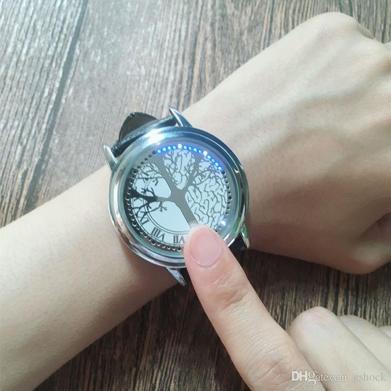 Akıllı Wristwath Elektronik LED Ekran Saat Moda Dijital Relojes Inteligentes Yaratıcı İzle feminino Casual Etnik Saatler relógio
