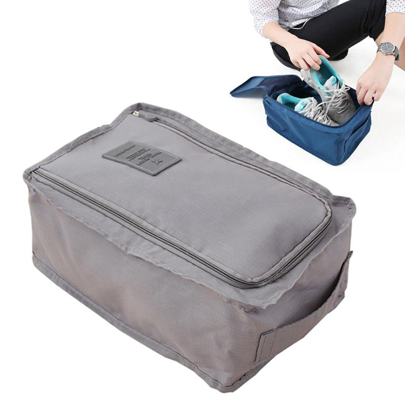 Портативная туристическая обувь сумка нейлоновая водонепроницаемая сумка для обуви 6 цветов сортировки сумки для хранения на молнии