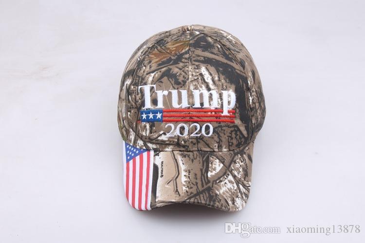 2020 nuovi US slogan della campagna camo Donald Trump 2020 Cappello rendere l'America Grande Cappello MAGA Caps Camouflage Mens Baseball Cap per le donne Femminile