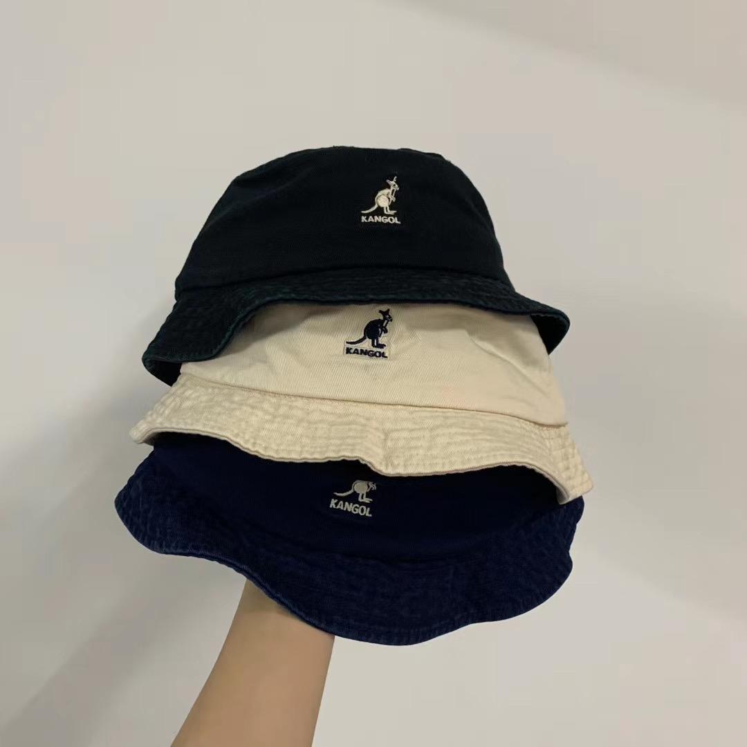 Ricamo lavato secchio cappello signore donne uomini teatro largo cappello da pesca cappello pescatore panama pop hip hop horajuku caccia all'aperto estate