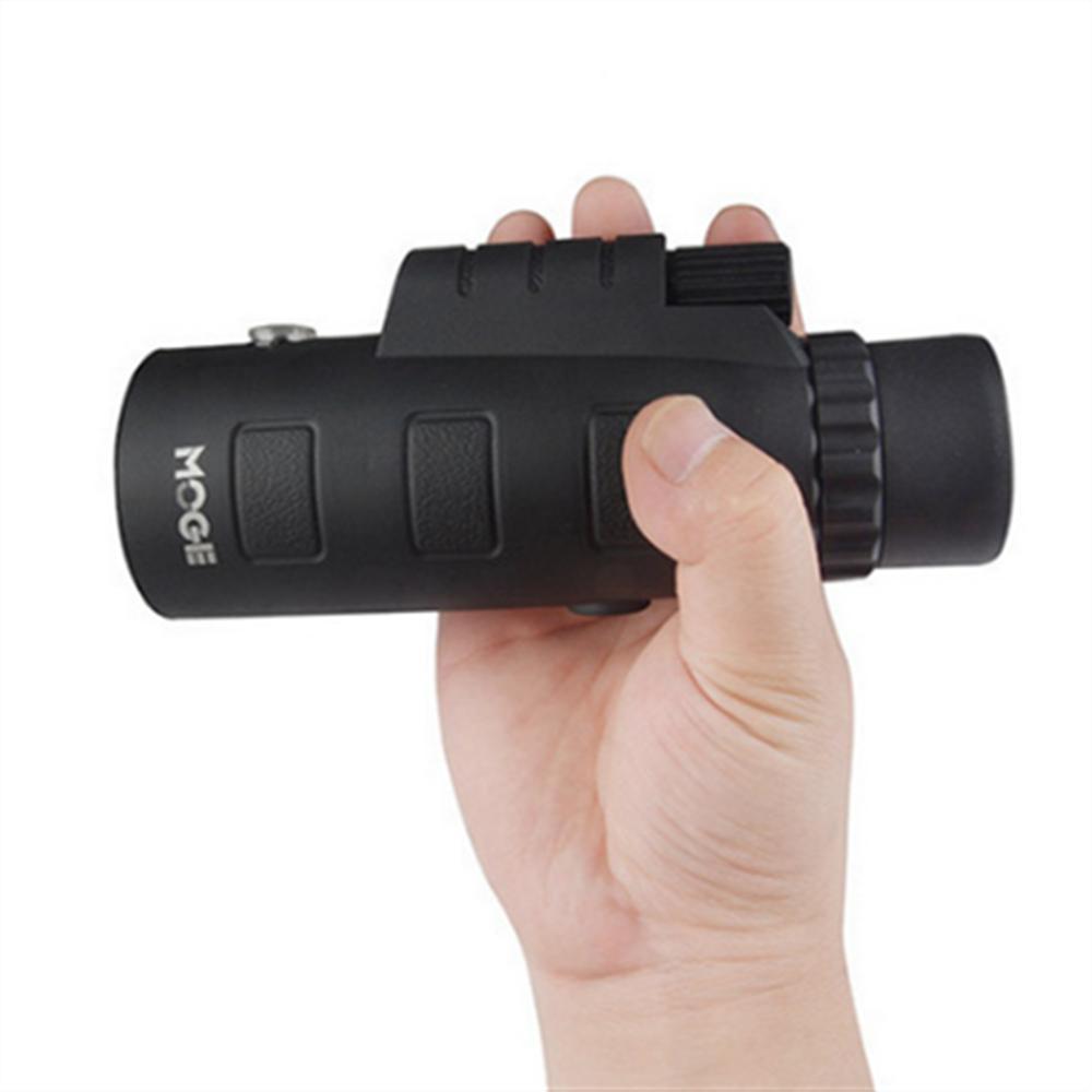 MOGE 50x60 cámara de telefonía móvil de alta definición con visión nocturna y bajo nivel de luz monocular