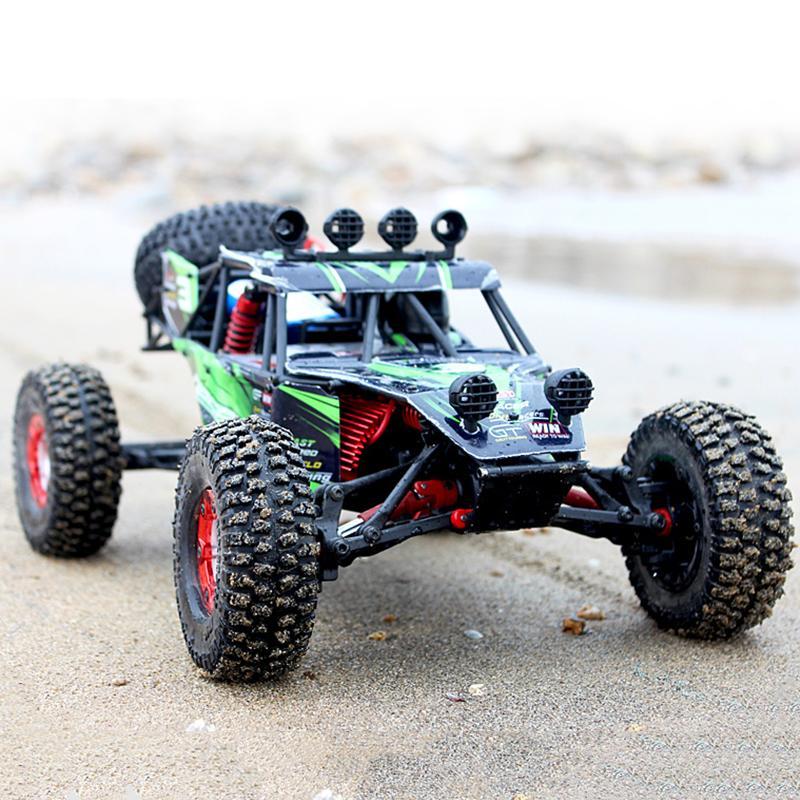 Feiyue FY03 Eagle-3 1/12 2.4G 4 roues motrices Desert Off-Road RC Car le meilleur cadeau pour les enfants Boy jouets avec boîte en mousse Y200317