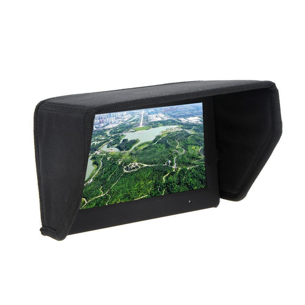7 pulgadas Pantalla LCD FPV cortina de Sun Sun Hood para Estudio