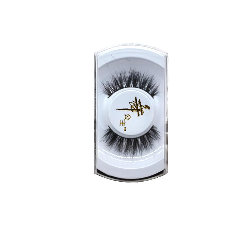 1 Pair Women Lady Black 100% Thick Long Fake Eye Lashes False Eyelashes Natural Long Eyelash Extension Makeup Tools