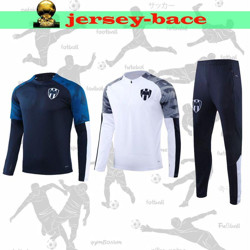 2019 2020 LIGA MX 클럽 몬테레이 성인 재킷 운동복 V.JANSSEN 까마귀 축구 자켓 R.PIZARRO 교육 정장 운동복