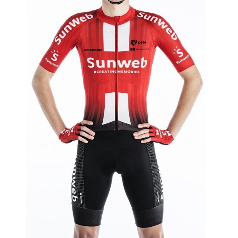 2020 فريق SUNWEB الجديد الجسم الصيف triatlon دعوى في الهواء الطلق skinsuit رجل ركوب الدراجات الملابس روبا ciclismo الدراجة بذلة سباق ملابس