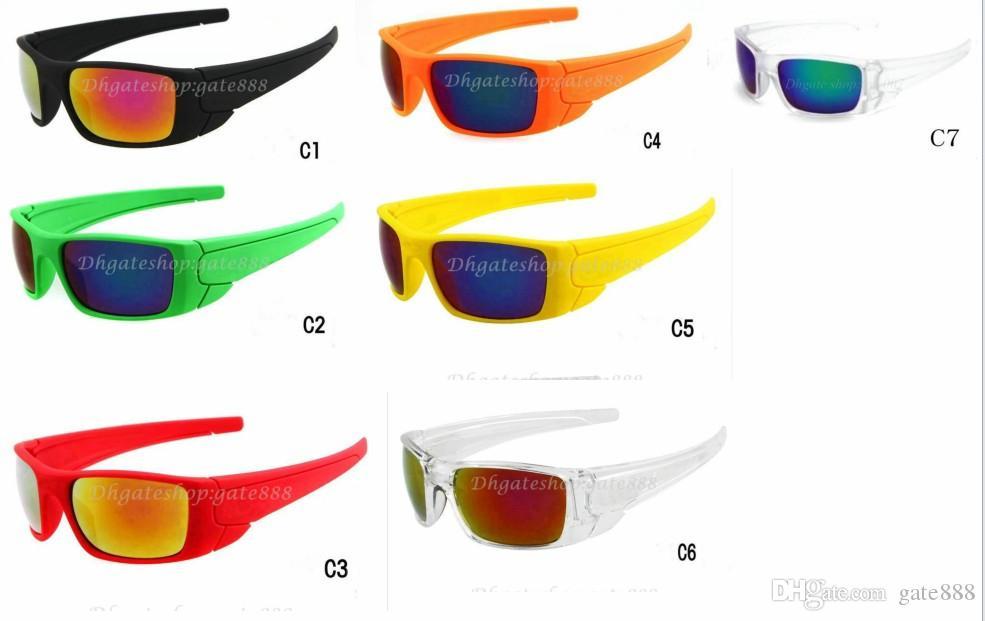 メンズサングラス屋外スポーツ10pcs /ロットサングラスGoogleメガネの混合カラー7Color!