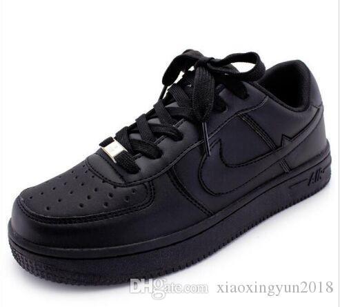 en kaliteli YENİ adamın moda düşükten yükseğe üst beyaz hava Yürüyüş ayakkabıları Kaykay ayakkabı Kadınlar siyah aşk unisex olanlar 1, R07