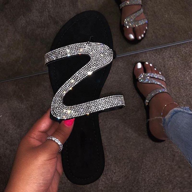 2020 패션 여성 샌들 플랫폼 여성 로마 여성 신발 여름 석 샌들 신발 플립 플롭 CHAUSSURES 팜므