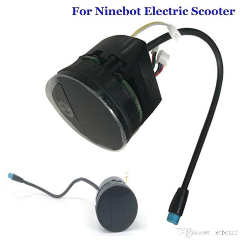 Tableau de bord pour tableau de bord pour Segway de pièces de scooter électrique Kickscooter Kickscooter Scanner électrique de panneau de bord pour Ninebot ES1 ES2 ES3