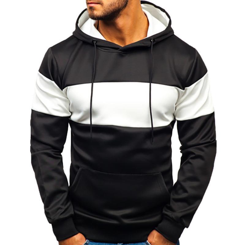 رقع رقع رقعة رقيقة رشيقة لباس رشيق لباس سترة هوديي Mens Streetwear Suéter De Los Hombres