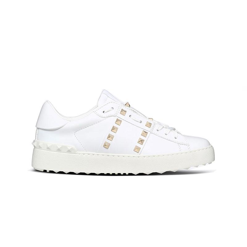 2019 chaussures de mode concepteur chaussures de luxe pour hommes, femmes sport blanc casual en cuir véritable noir rouge de marche de jogging de chaussures avec la boîte