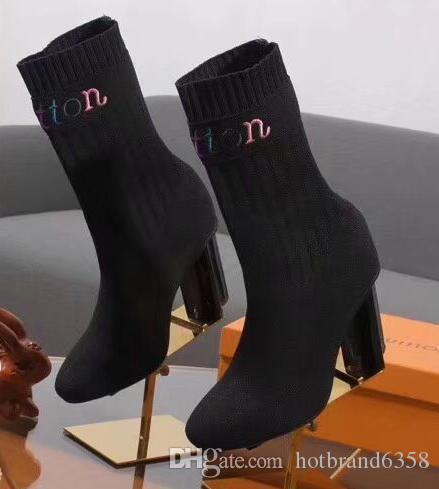 bh106 dernières femmes de mode en cuir véritable authentique de haute qualité des bottes sexy talons hauts bottes « fête de la mode femmes occasionnels banquet chaussures