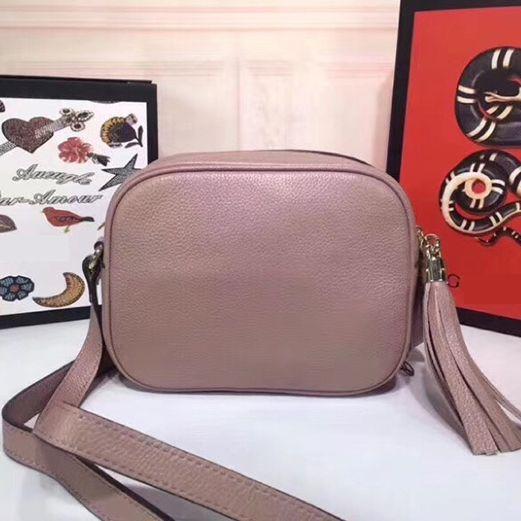 La meilleure qualité réelle de la mode en cuir vachette soho Disco Sac bandoulière Tassel 308364 doux classique Satchel de sac à main sac à main des femmes