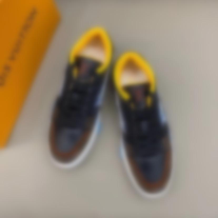 2020 Calzado Moda hombre ocasional otoñoLouisZapatosVuittonTendencia transpirable zapatillas de deporte para los hombres Zapatosn Hombre Pisos # 1 35