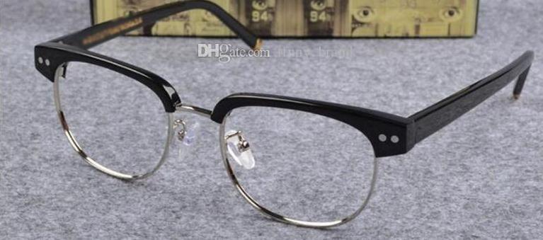 New arrived Joel half frame Johnny Glasses Optical Eyeglasses Anti-blue Myopia Glasses Depp Frame with original box