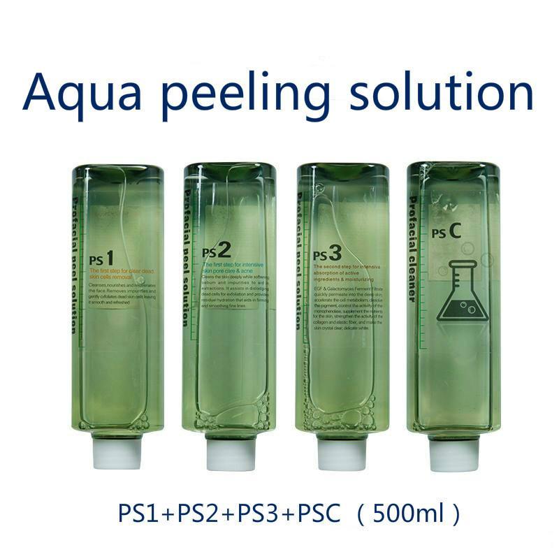 Aqua Clean Solution / Aqua Peel Concentrated Solution 500ml Per Bottle Aqua Facial Serum Hydra Facial Serum for Normal Skin Free Shipping
