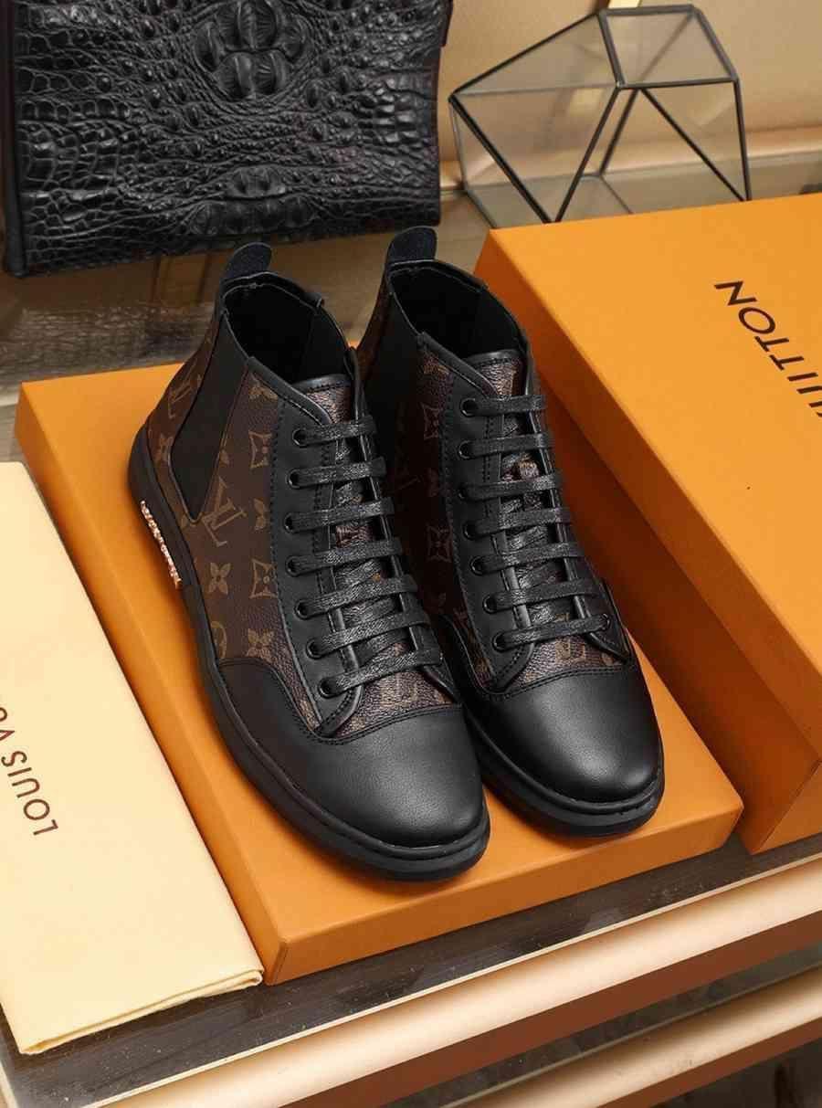 2020Designer NEW Mens Schuhe Sneaker SneakersLVLouisHerren Business Casual Schuhe 38-46 1422-3