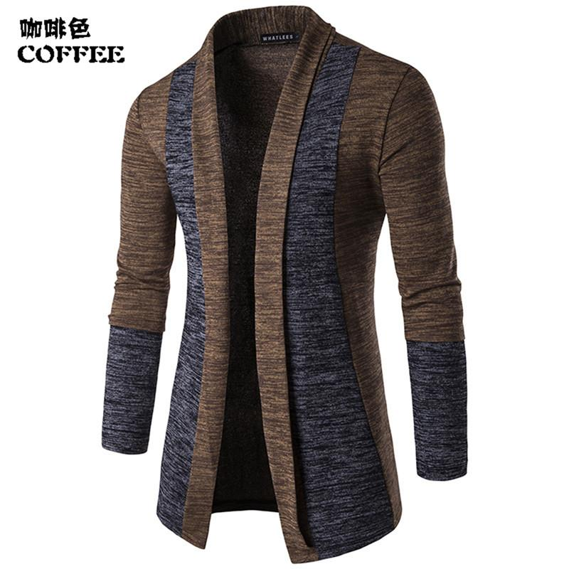 New Men/'s Slim Knitwear Cardigan Knit Coats Jumper Sweaters Tops Jackets