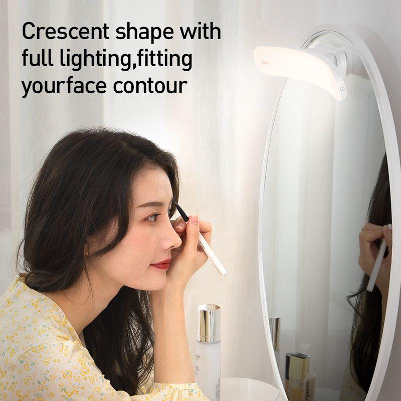 New product USB LED Mirror Light Makeup Mirror Vanity Light Adjustable Mirror lamp Portable Makeup lights For Bathroom Dressing