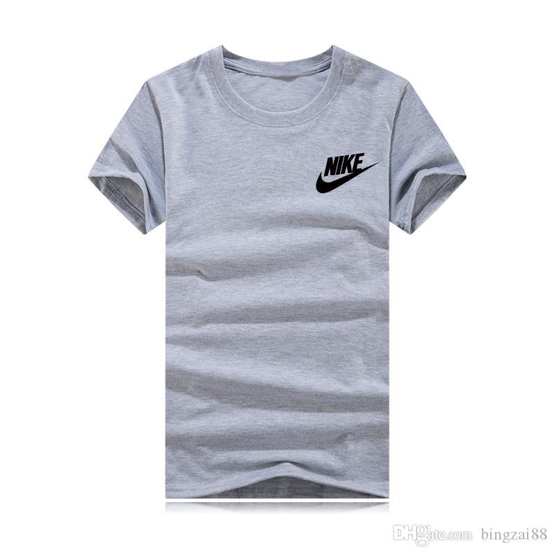 2020 Yaz Tişörtlü Katı Pamuk Yüksek Kalite İnce Casual Yeni Marka ve Siyah Eşofman İç Tişörtler Undertale