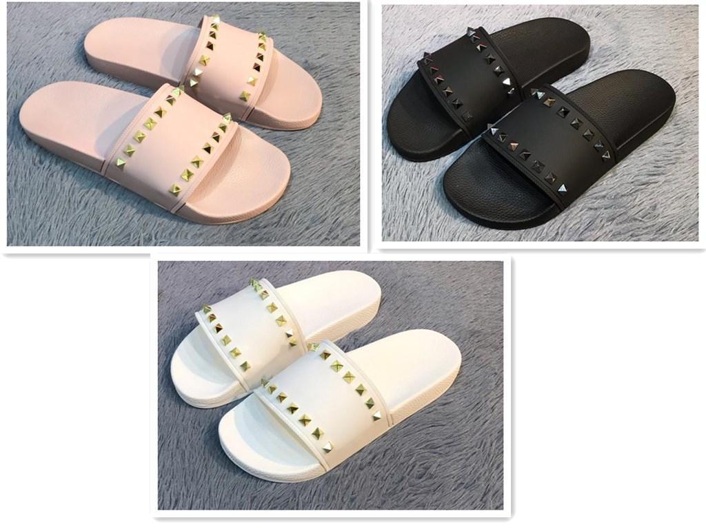 Geniş Düz Sandalet Terlik ile Kutusu ücretsiz gönderim 2020 Yeni En Erkekler ve Kadınlar Sandalet Tasarımcı Ayakkabı yılan baskı Lüks Slayt Yaz Moda