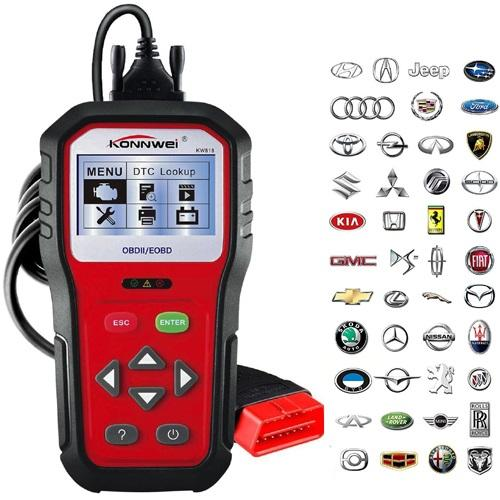 Professional OBD2 Scanner Car OBD II Auto Diagnostic Fault Code Reader Automotive Check Engine Light for All Cars