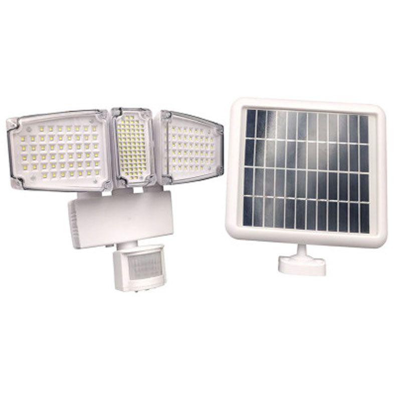 Parete ad energia solare 178LLED 188LED LED Floodlight Motion Sensor Spotlight 1000LM Sicurezza Luce bianca e nero