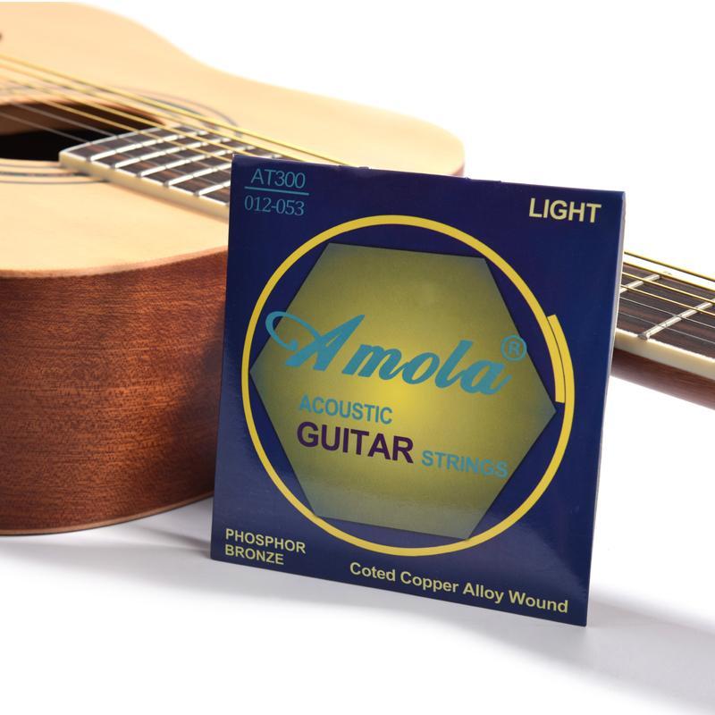 Stringhe della chitarra acustica del bronzo del fosforo, serie personalizzate di chitarra dei principianti del principiante del principiante del novizio