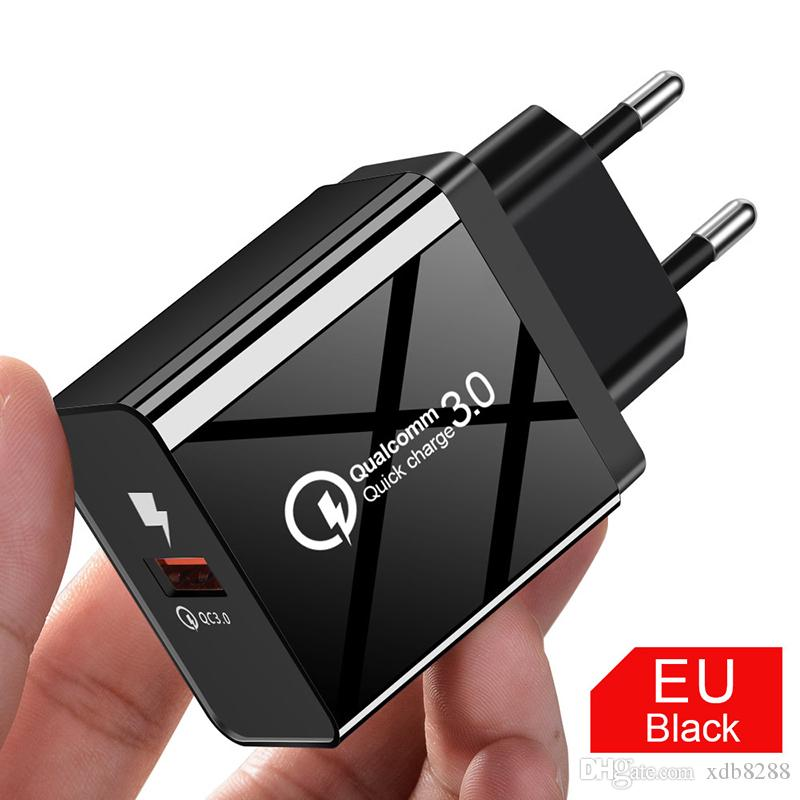 DHL free shipping 5V 3A USB Charger Quick Charge 3.0 4.0 Universal Fast Charging Power Adapter For Xiaomi tablet eu us charger
