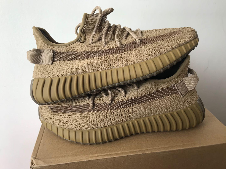 Tierra de salvia desierto verde ceniza Zyon nueva V2 kanye west zapatos ropa tierra de reflexión pantano Breds desierto salvia oreos ejecutan zapatillas de deporte con la caja