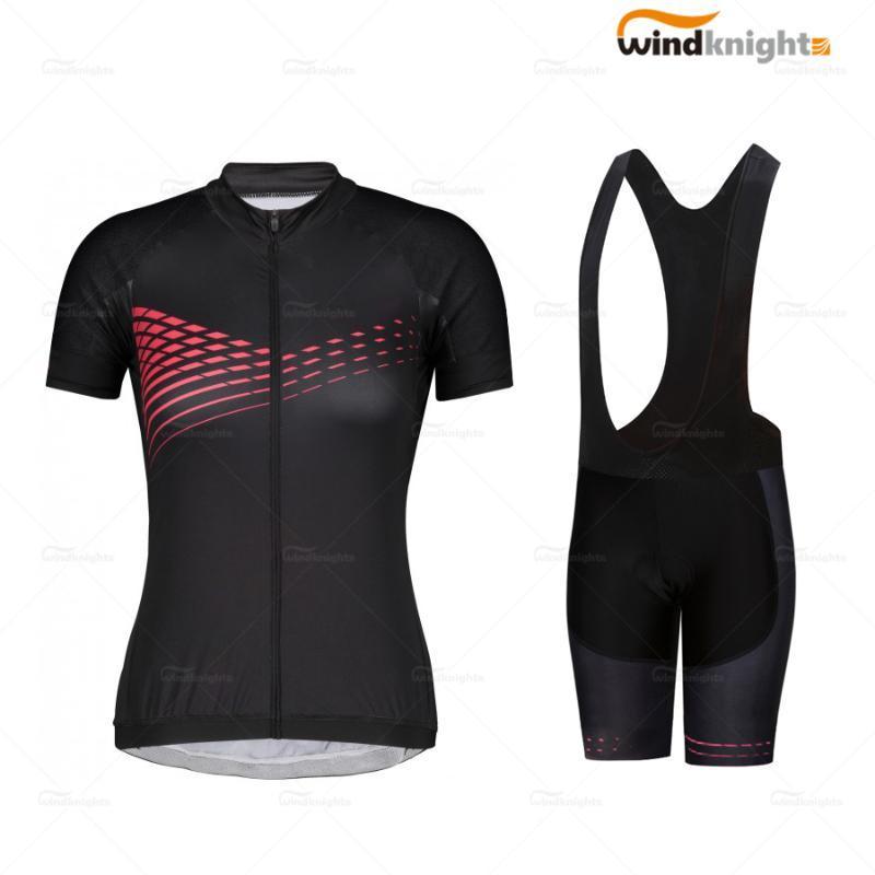 Breve ciclismo manica l'insieme dei vestiti delle donne ITD estate vestito Maglia ciclo 19D gel Salopette Roupa Ciclismo feminina