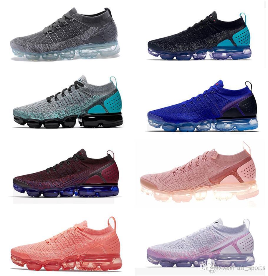 2019 Yeni BHM Gökkuşağı Fly V1 V2 Erkekler Kadınlar Koşu Ayakkabı Kırmızı Orbit Oreo Asfalt Gri Tasarımcı Erkek Koşu Sneakers Boyutu 36-45