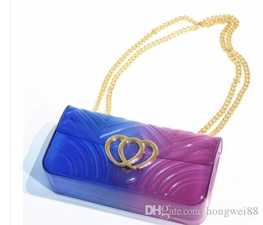2019 donne borsa a tracolla singola pacchetto trasversale nuovo stile di moda Borsa a mano 66