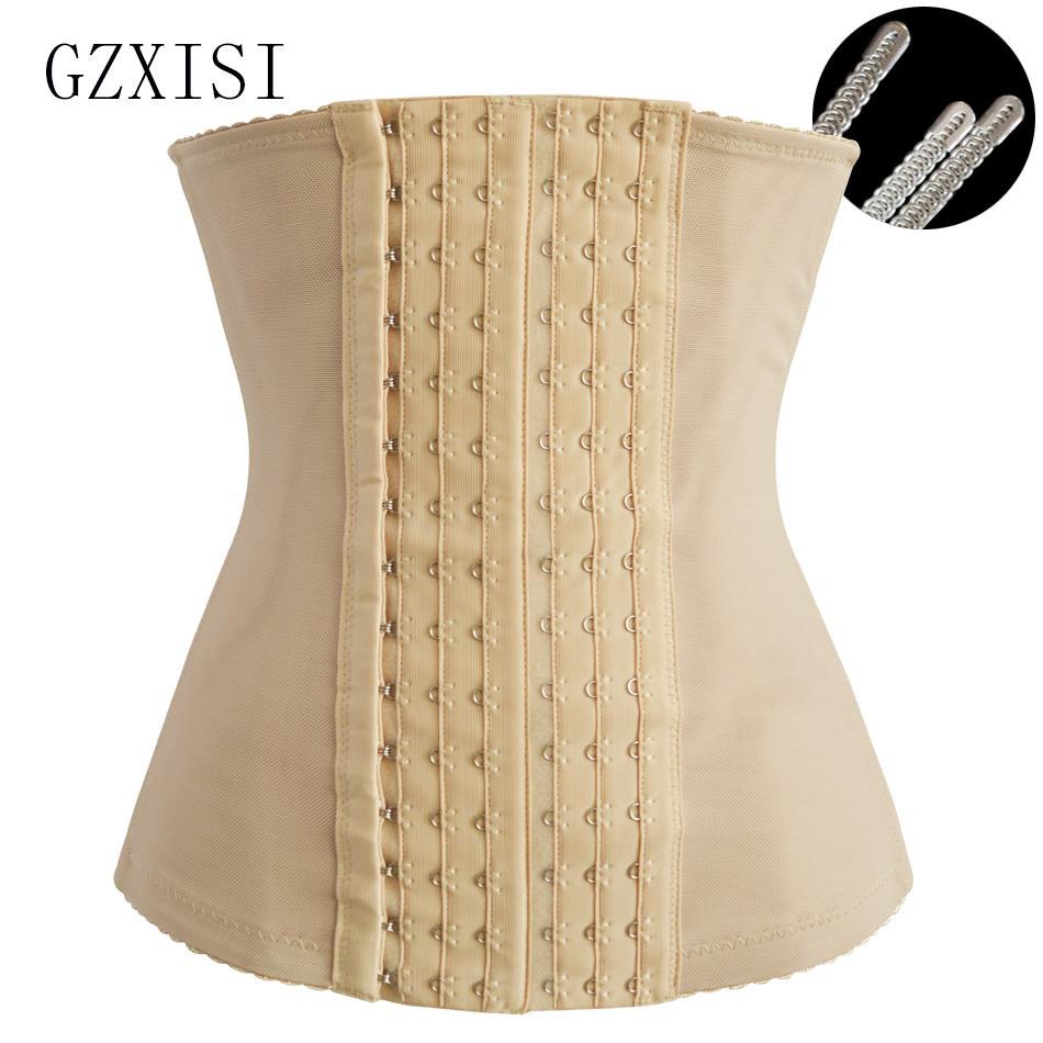 Cintos GZXISI Corpo Shaper Emagrecimento Modeling Strap Mulheres Sexy cintura instrutor Belt Underbust Shapewear Cintos Corset Para Dropshippers