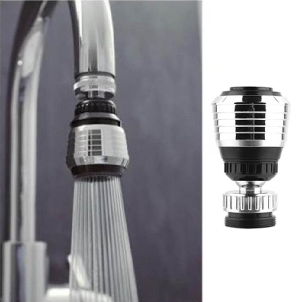New 360 Swivel Water Saving Tap Rotate Faucet Nozzle Filter Adapter Tap Aerator Diffuser Kitchen Drop Shipping