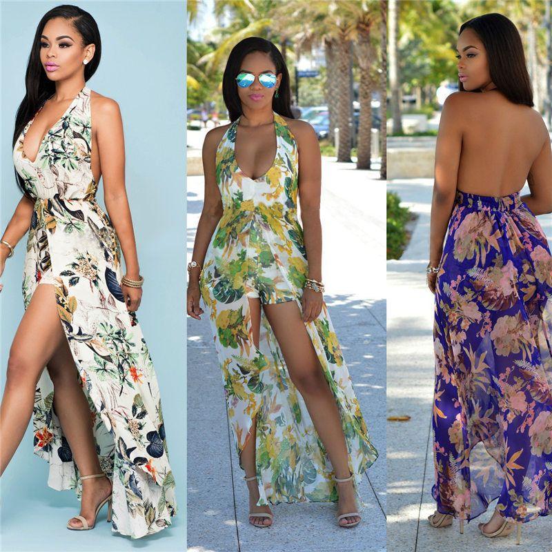 brand new new release good looking Latest Fashion Women Leisure Printing Condole Belt Dress Cheap ...