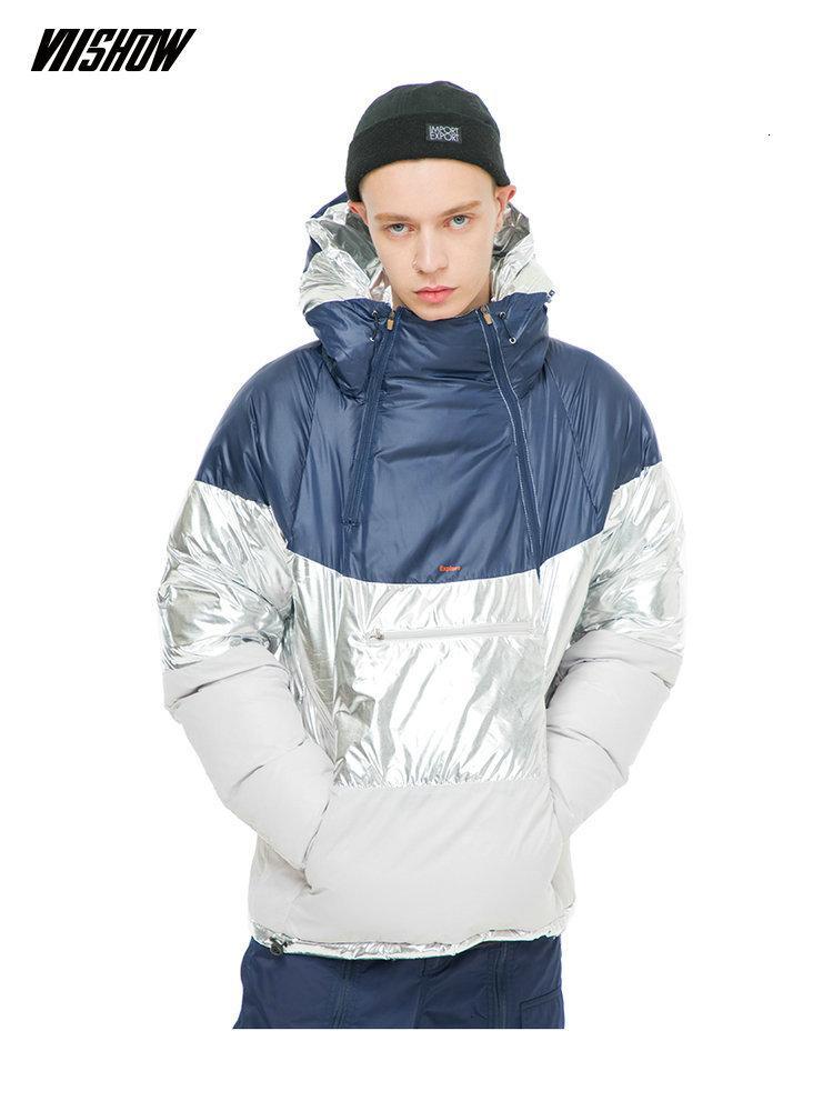 VIISHOW White Duck Men's Down Jacket Brand Winter Jacket For Men Doudoune Homme 2018 New Warm Men's Winter Jacket Coat YC2335184MX190904